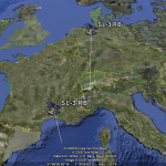 les satellites sur GoogleEarth
